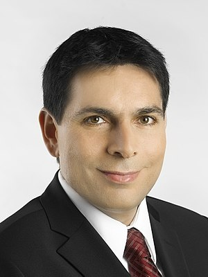 A portrait of Likud party (Israel) candidate, ...