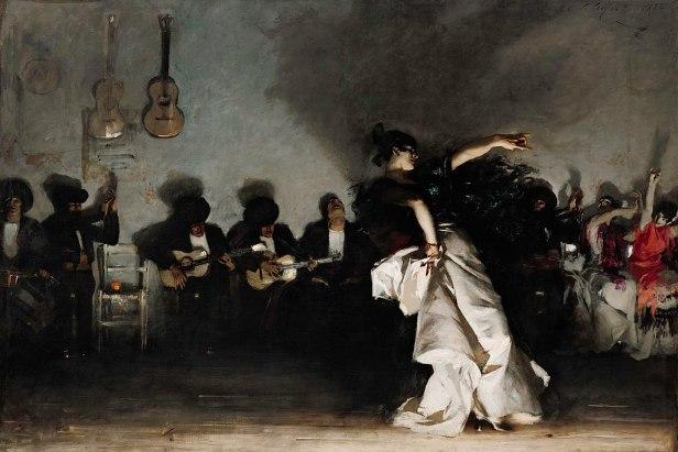 """""""El Jaleo"""" by John Singer Sargent"""