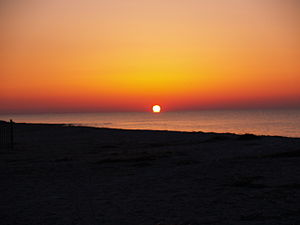 Sunrise at Edisto Beach SC