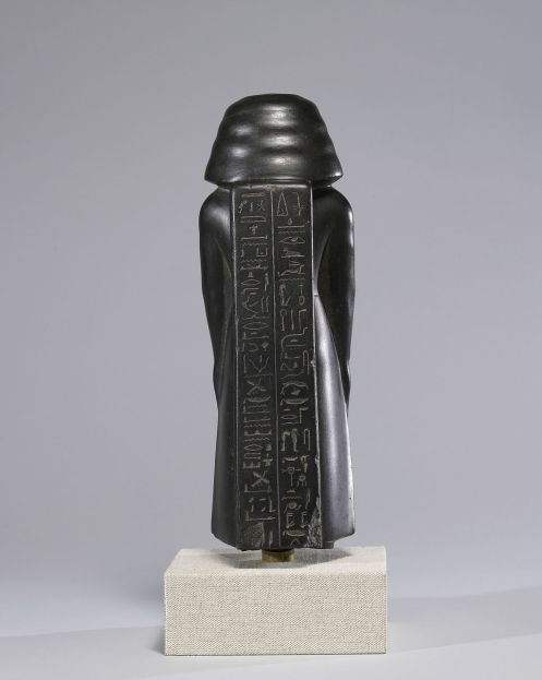 Egyptian - Statue of a Vizier, Usurped by Pa-di-iset - Walters Art Museum