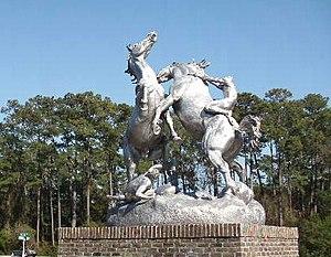 Statue by Anna Hyatt Huntington