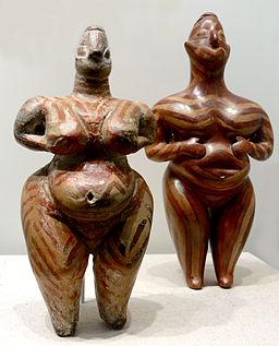 Frauenstatuetten Hacilar