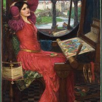 """I Am Half-Sick of Shadows, Said the Lady of Shalott"" by John William Waterhouse"