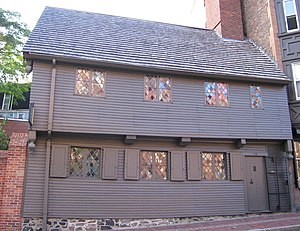 English: Paul Revere's House in Boston, Massac...