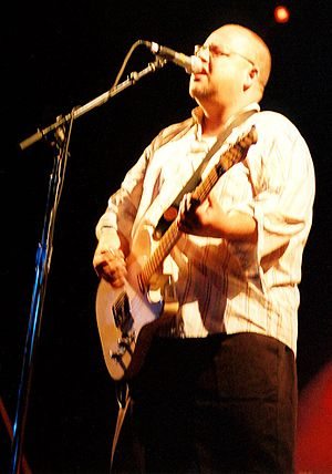 Black Francis (or Frank Black) of the Pixies.