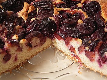 Another plum cake