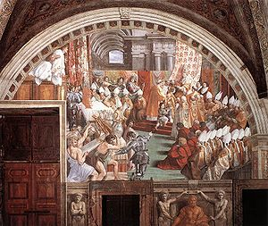 The Coronation of Charlemagne, by assistants o...