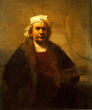 Rembrandt - Self-Portrait - WGA19221