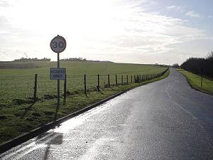 English: Road to Blandford Camp at Collingwood...