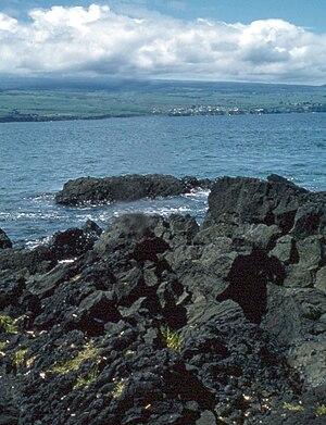 Rocky beach, Hilo, Hawaii