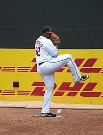 Cleveland Indians pitcher C.C.