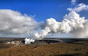 Sulfur dioxide emissions from the Halemaʻumaʻu...