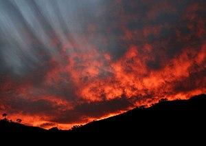 Red sky at night, sailor's/shepherd's delight.