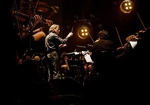English: Vladimir Jurowski conducting the Orch...
