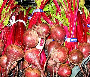 The red color of beets comes from betalain pig...