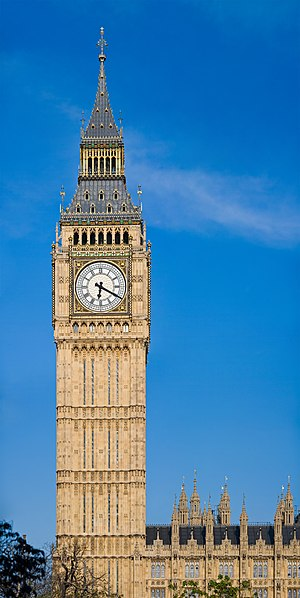The Clock Tower of the Palace of Westminster, ...