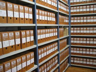 archives track and hold rare information