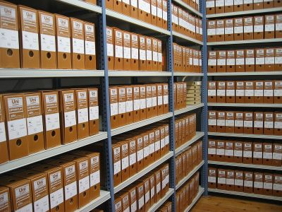 example of what archives look like
