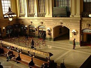 Estación Terminal Hoboken en Nueva Jersey