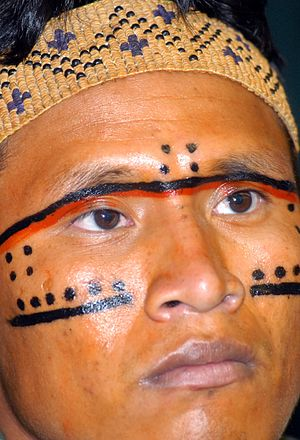 English: Brazilian Yanomami Indian Português: ...