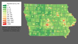 English: Category:U.S. State Population Maps C...