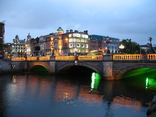 Ireland Dublin Night