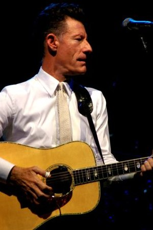 Lyle Lovett (pictured) and Al Green became the...