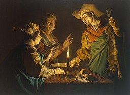 Matthias Stom - Esau and Jacob - WGA21805