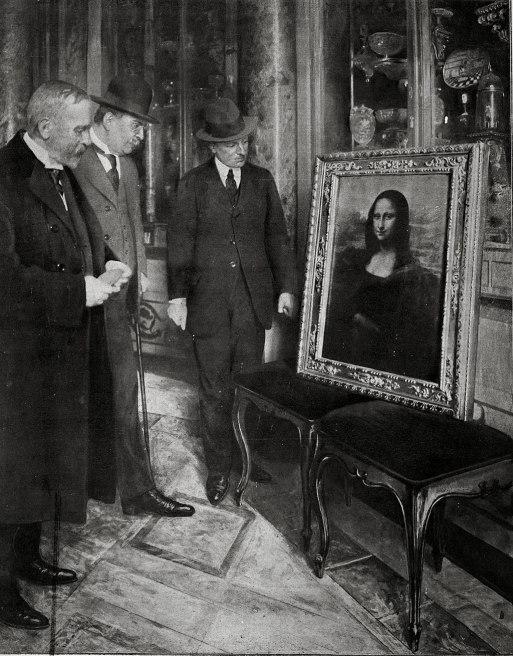 Monalisa uffizi 1913