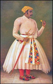 Raja Ravi Varma, Maharana Amar Singh - I.jpg