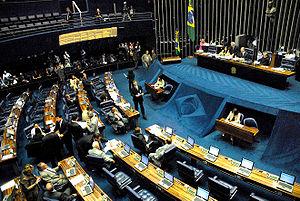 Português: Plenário do Senado Federal do Brasil