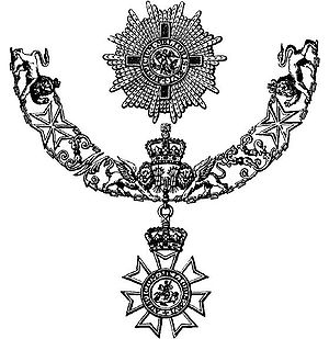 The Star and Collar of a Knight Grand Cross of...