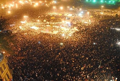 Tahrir Square on November 22