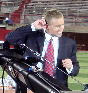 ESPN College GameDay's Kirk Herbstreit in Linc...