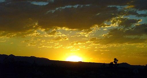 Actual Sunset