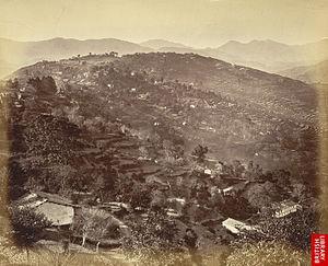 Almora, Uttarakhand. 1860s.