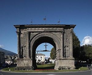 Arco d'Augusto, Aosta