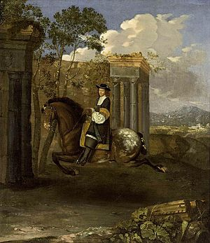 Equestrian Portrait of a Gentleman