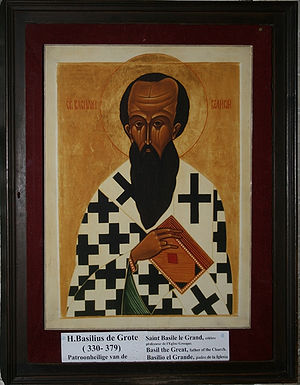 Basil the Great, father of the church