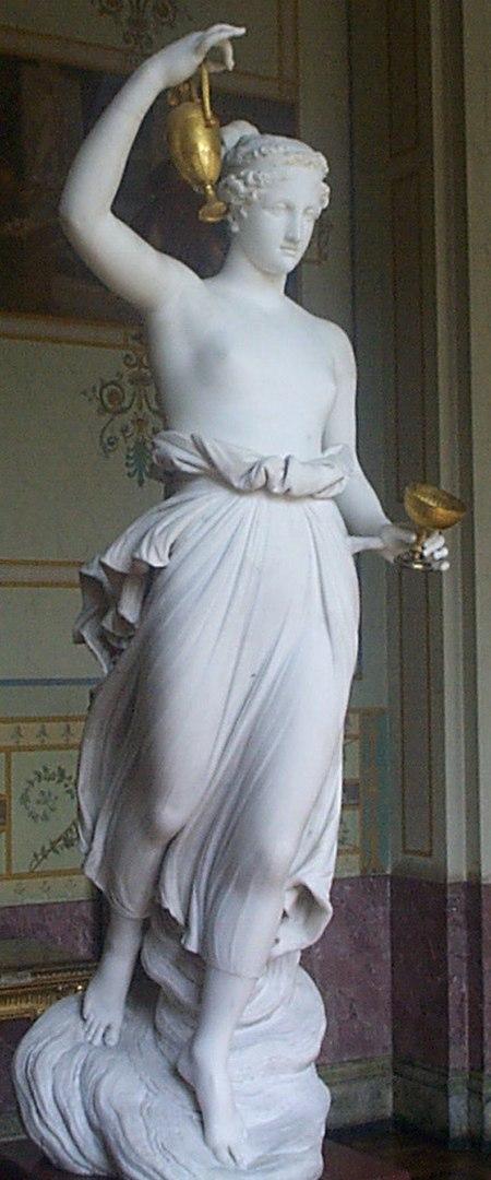 Antonio Canova, Hebe, 1800-1805 (Ermitaż, St. Petersburg)