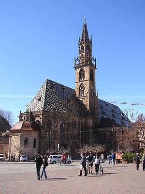 English: Maria Himmelfahrt, Bolzano. Deutsch: ...