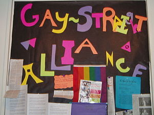Some schools have Gay-Straight Alliances or si...