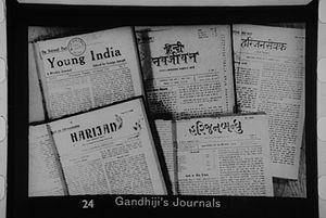 Gandhi's journals