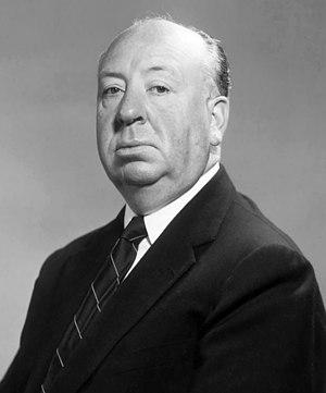 English: Studio publicity photo of Alfred Hitc...