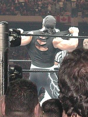 English: Hollywood Hulk Hogan at WrestleMania ...