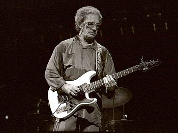 English: J.J. Cale playing the blues