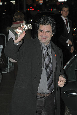 Iranian director Jafar Panahi at the 56th Berl...