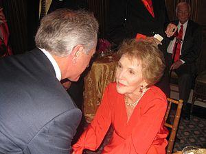 Senator Corker greets former First Lady Nancy ...