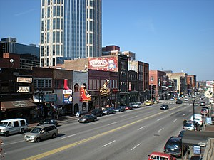 English: Downtown Nashville