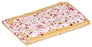English: A Raspberry Pop-Tart.